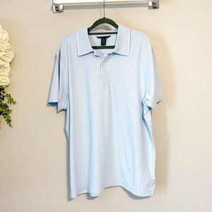 NWT Banana Republic Light Blue Polo